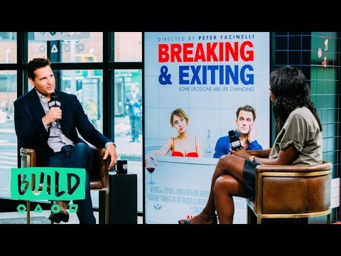 "Peter Facinelli Speaks About ""Breaking And Exiting"" (With Our Pre-Show, The BUILD Up)"