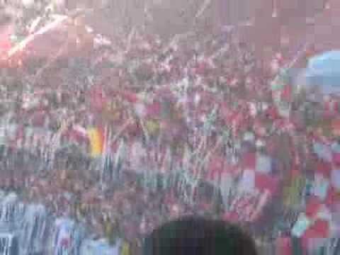 gran salida de - La Guardia Albi Roja Sur - Independiente Santa Fe