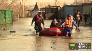 Akmola Kazakhstan  city photos gallery : Akmola Oblast flooded by melt waters in Kazakhstan