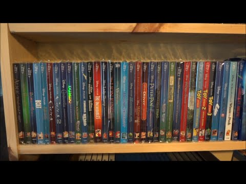 My Entire Disney Blu-ray + DVD Collection 2014