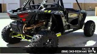 8. 2016 Polaris RZR XP 1000 EPS Titanium Matte Metallic  - R...