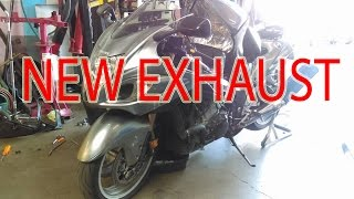 9. How to drop weight on a Hayabusa | GET A FULL EXHAUST SYSTEM!