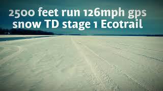 10. TD 900 ace turbo dynamics stage 1 126mph GPS 202kmh