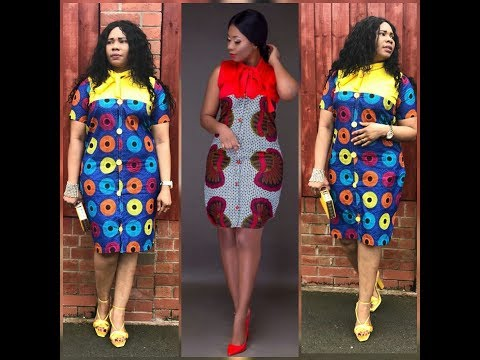 How To Make A Shirt Dress With Ankara Fabric