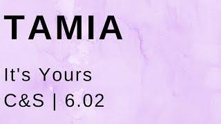 Tamia It's Yours (C&S)