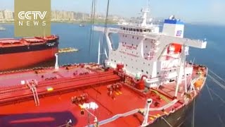 Video Made in China, one of the world's largest oil tankers tested MP3, 3GP, MP4, WEBM, AVI, FLV Juni 2018
