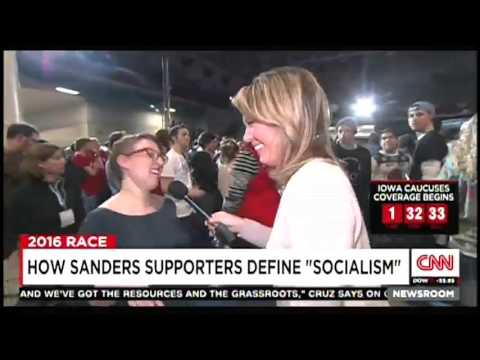 Sanders Supporters Can't Define Socialism