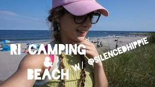 RI VLOG | from the camp to the beach w/ @silencedhippie by Jenny Wakeandbake