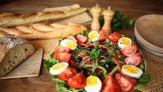 Cómo hacer ensalada nizarda