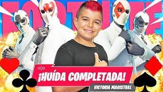 NUEVO MODO *LA HUIDA*EN FORTNITE!!! Squad de comodines en PS4