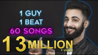 Video 1 GUY | 1 BEAT | 60 SONGS | Aarij Mirza | Mashup MP3, 3GP, MP4, WEBM, AVI, FLV September 2018