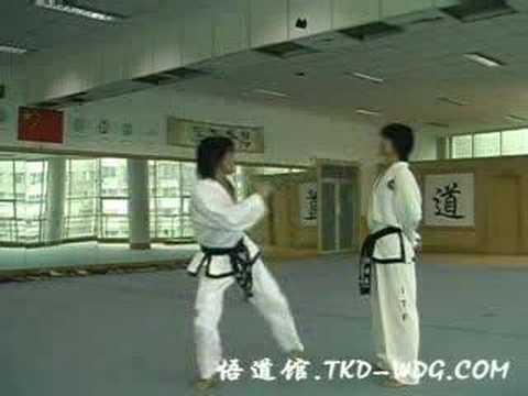 Техника Таэквон-До Ji Lei III Dan ITF (China)