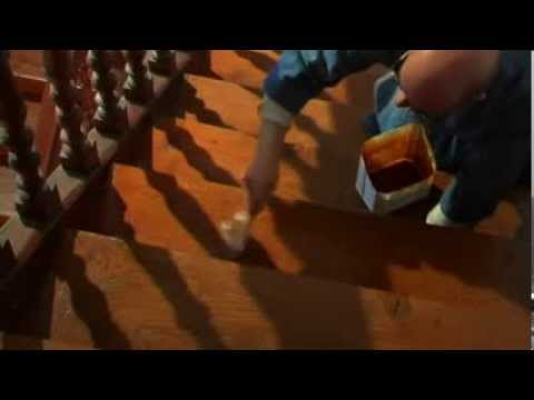 comment appliquer vitrificateur escalier