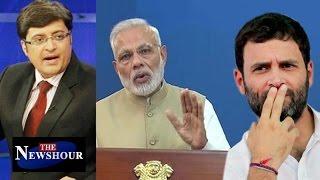 Rahul Gandhi AGAINST PM Modi's War On Black-Money: The Newshour Debate (8th Nov)