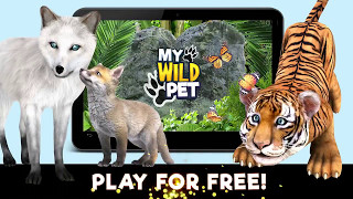 My Wild Pet Online Animal Rescue (Android / iOS) My Wild Pet Mobile Game For Kids Gameplay'My Wild Pet' takes players to an immersive world where their mission is to rescue caged animals, while they play as their favourite animal and interact in a safe online multiplayer environment. My Wild Pet Features: - Over 100 fun animal rescue missions- Beautifully hand painted, immersive 3D graphics- 25 animals to rescue and adopt- Kids can play together, chat and make friends online