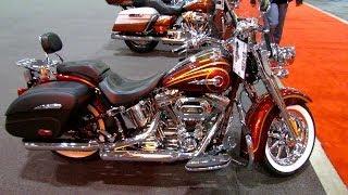 4. 2014 Harley-Davidson CVO Softail Deluxe Walkaround - 2014 Toronto Motorcyle Show