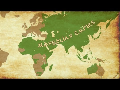 EU4 - Timelapse - Rise of My Mongol Empire