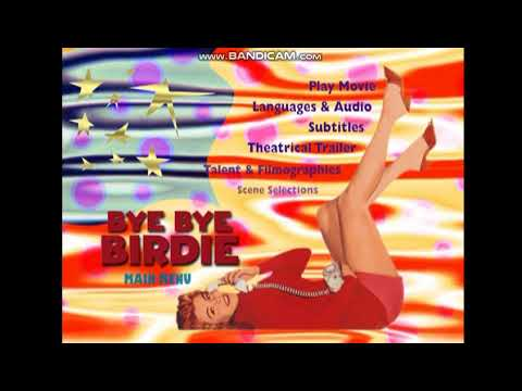 Opening To Bye Bye Birdie 1999 DVD (Widescreen Side)