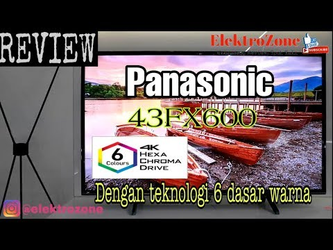REVIEW PANASONIC SMART TV 43FX600 UHD