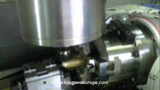 TT182 Rotary Table showing 4th and 5th Axis machining