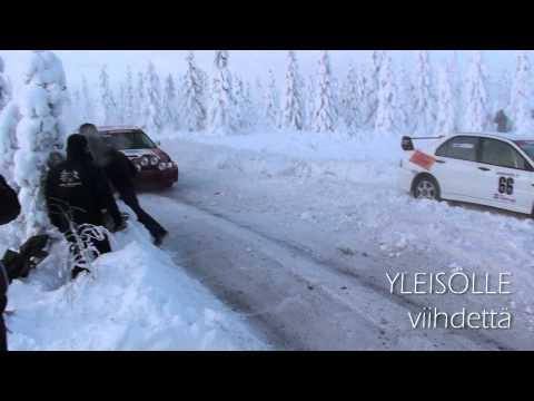 Prawdziwy, zimowy rajd - Arctic Lapland Rally 2013