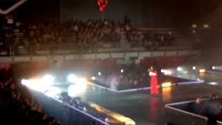 Elisa - LUCE  - GENOVA 11/3/2014 - L'ANIMA VOLA TOUR
