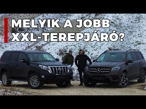 Toyota Land Cruiser & Mercedes-Benz GLS - Összehasonlító Teszt | Alapjárat