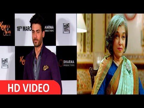Ratna Pathak Become My On Screen Mom - Fawad Khan