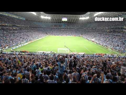 Grêmio x Atlético-PR - Copa do Brasil 2013 - Semifinal - Hoje eu vim te apoiar - Geral do Grêmio - Grêmio