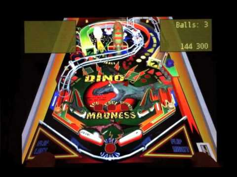 Video of Dino Madness Pinball