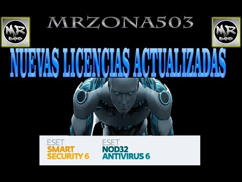 SERIALES Y LICENCIAS 2014-2015 PARA ESET SMART SECURITY Y NOD32 2014 Y 2015