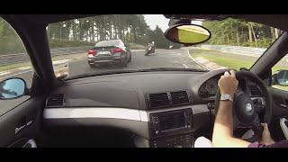 BMW E46 M3 vs M4 Nurburgring Nordschleife