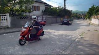 3. Testare maxi scuter Kymco Grand Dink 250 - Testing my maxi-scooter Kymco Grand Dink 250