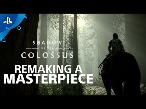 Shadow of the Colossus - Making of du Remake  - PS4