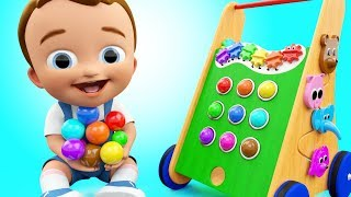 Video Pong Walker Color Balls Wooden ToySet 3D Colors for Children to Learning with Baby Fun Play Kids Edu MP3, 3GP, MP4, WEBM, AVI, FLV April 2019
