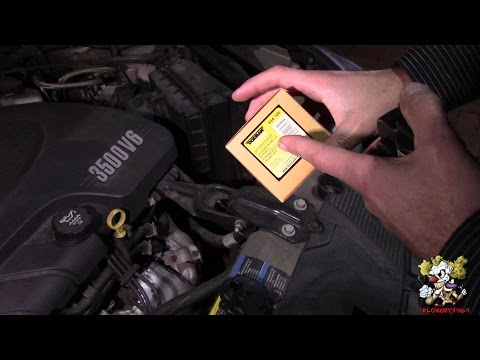 How to Replace a DRIVER Side Heat Door Actuator - Chevy Impala 2006 - 2013 - DIY