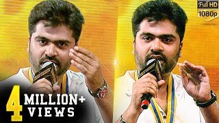 Video Simbu tit-for-tat on stage with a person from crowd MP3, 3GP, MP4, WEBM, AVI, FLV Desember 2018