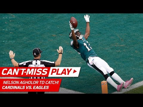 Video: Nelson Agholor Catches Carson Wentz's 4th TD Pass of the Day! | Can't-Miss Play | NFL Wk 5