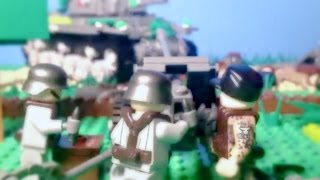 1941 Lego World War 2 - KV-1 Tank Battle || Lego Stop Motion Animation