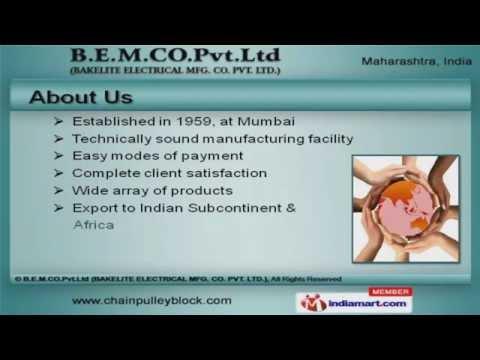 B.E.M. Co. Pvt. Ltd (Bakelite Electrical Mfg. Co. Pvt. Ltd.) - Video