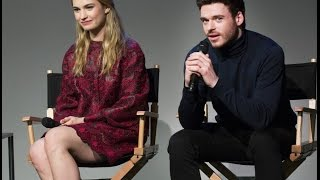 Lily James&Richard Madden: Cinderella Interview