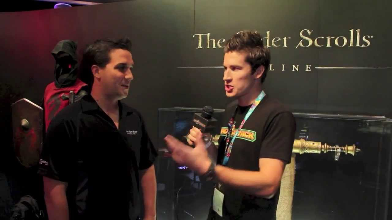 The Elder Scrolls Online Interview | E3 2013