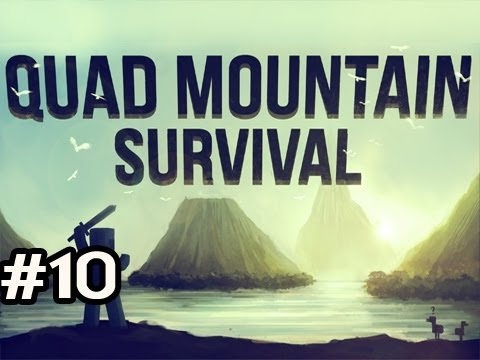 Minecraft: Quad Mountain Survival w/Nova Ep.10 - TORNADO ALERT! Video
