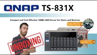 Cost-effective quad-core business NAS with integrated dual 10GbE SFP+ ports...