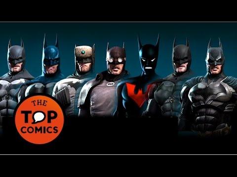 Las diferentes versiones de Batman видео