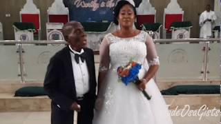 Update: 87-Year-Old  Man Marries A Much Younger Woman In Port Harcourt