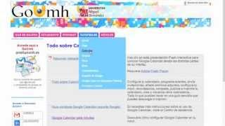 Umh0460 2013-14 Lec104  Calendario De Google En GoUmh
