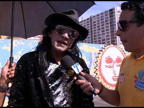 Michael Jackson ressuscita no Galo da Madrugada