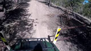 3. 2019 Yamaha Kodiak 700 EPS trail riding the 717 part 1