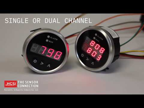 Overview of DPG-SD Series Digital Pyrometer Gauge